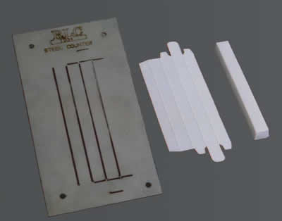 Laserplate Metal CounterPlates